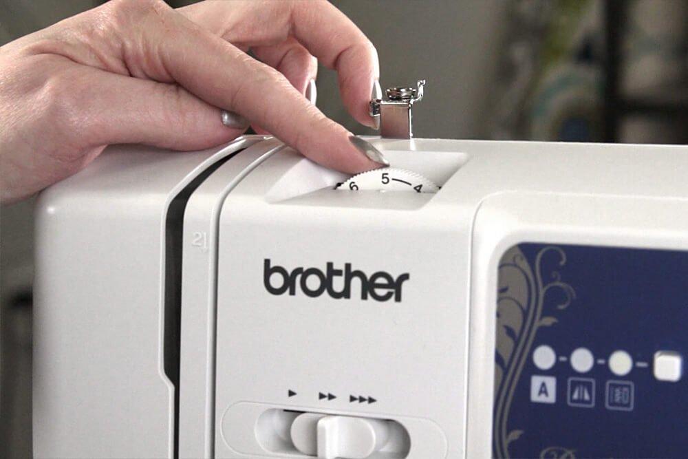 Sewing Machine Basics - Tension wheel