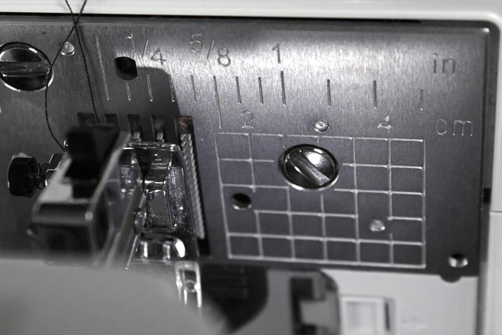 Sewing Machine Basics - Needle plate