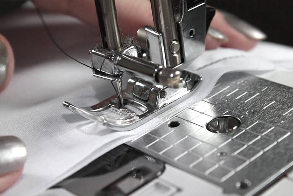 Sewing Machine Basics - Sew forward to the end