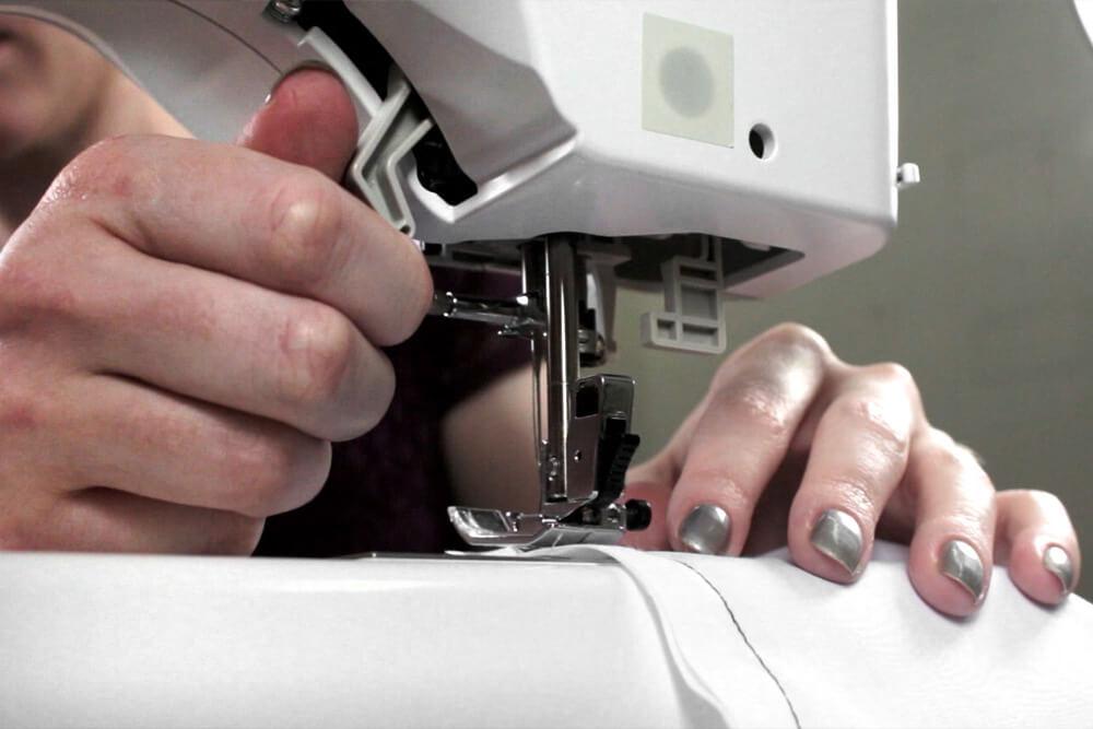 Sewing Machine Basics - Lift presser foot