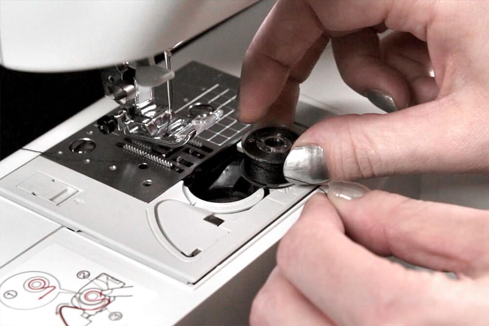 Sewing Machine Basics - Load the bobbin