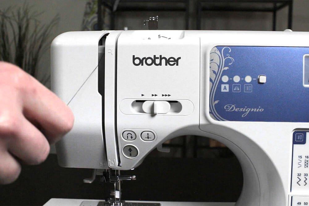 Sewing Machine Basics - Thread the sewing machine