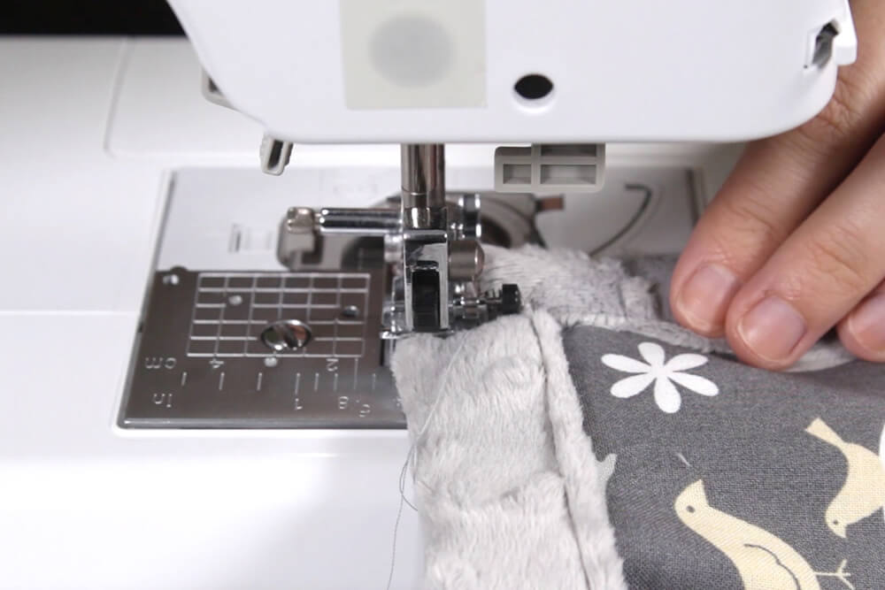 Sewing Minky Fabric