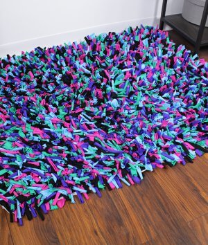 How To Make a Shag Rug