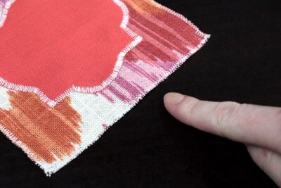 How to Sew a Zig Zag Stitch - Use to prevent edges from fraying