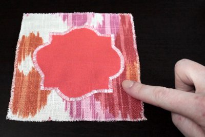 How to Sew a Zig Zag Stitch - Use for appliques