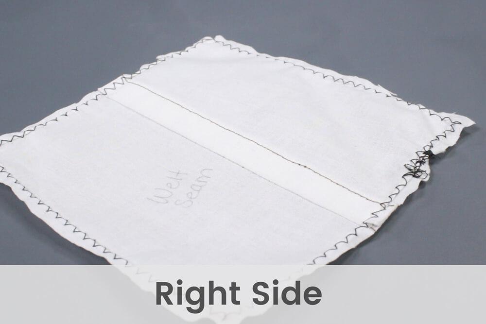 How To Sew a Welt Seam & Flat Felled Seam - Welt Seam