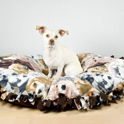 How to Make a No Sew Dog Bed