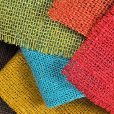 Color Burlap Fabric