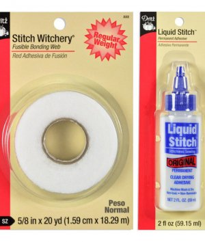 No Sew Methods: Stitch Witchery vs. Fabric Glue