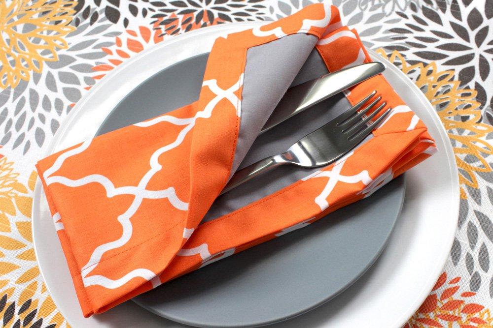 Broadcloth and cotton prints fo napkins