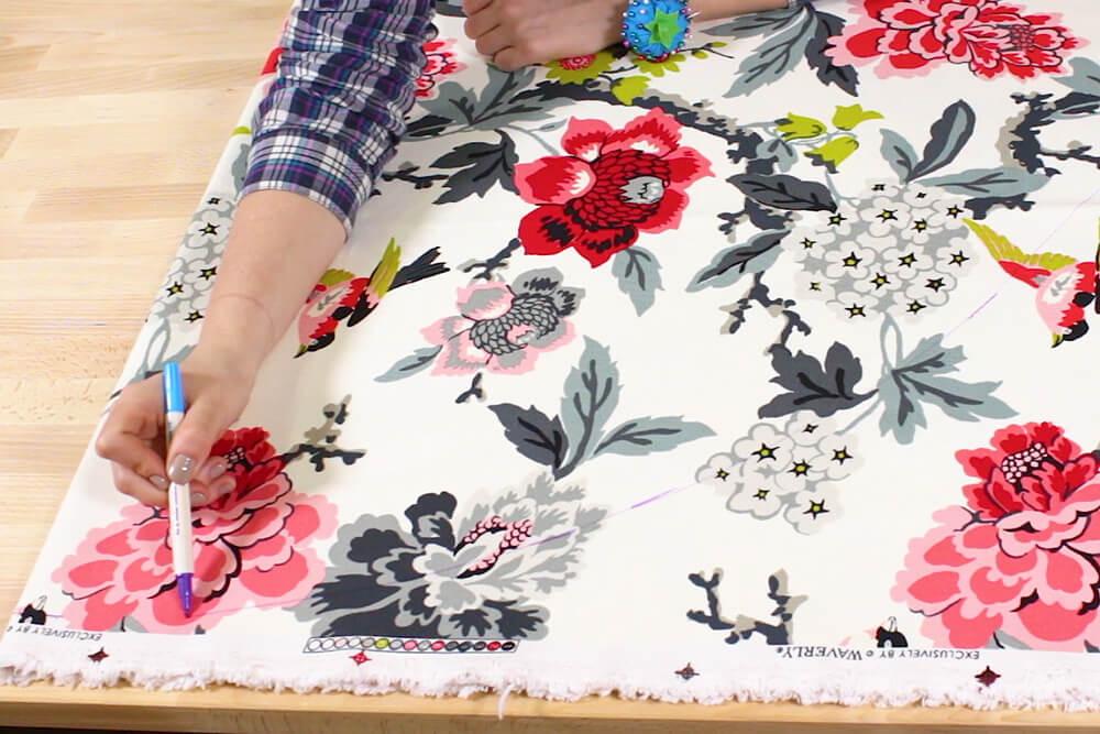 How to Make a Circle Skirt - Measure and cut the skirt