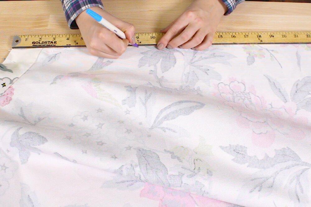 How to Make a Circle Skirt - Insert the zipper