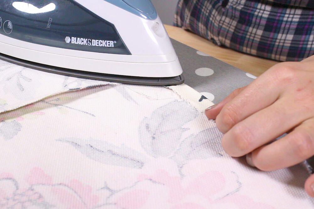 How to Make a Circle Skirt - Hem the bottom