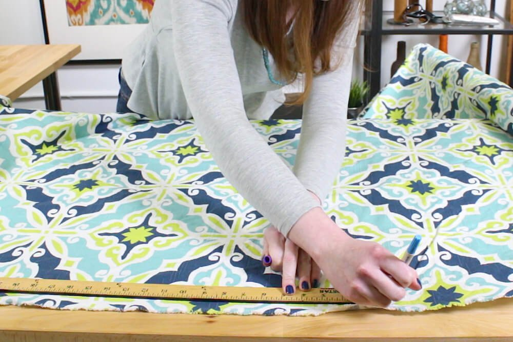Duvet Cover - Cut the center panel to the correct length
