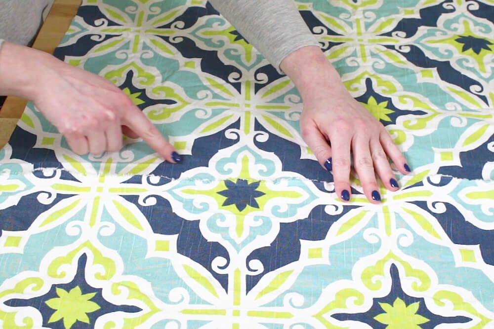 Duvet Cover - Align the pattern