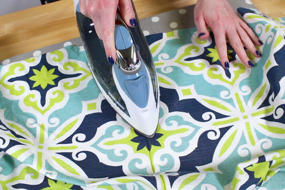 Duvet Cover - Unfold the fabric and iron