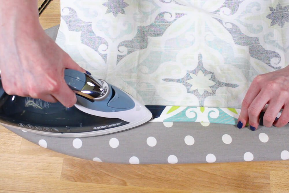 Duvet Cover - Fold in another inch and iron