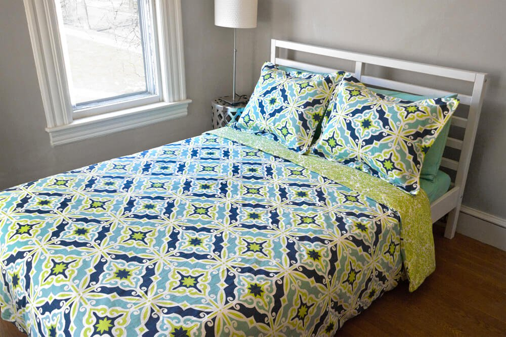By Making Your Own Duvet Cover You Can Be Sure Youll Get Exactly The Size And Look Want Choose Different Fabrics For Front Back