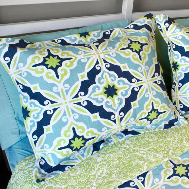How to Make Flanged Pillow Shams
