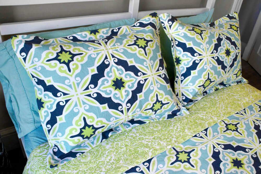 Flanged Pillow Sham - Front