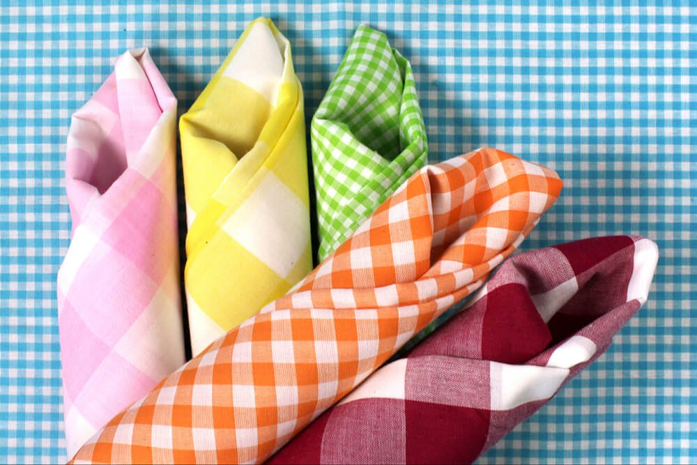 gingham-for-napkins