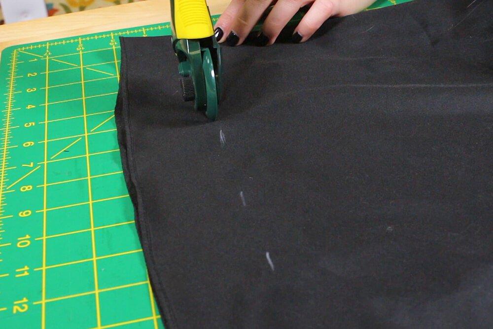 How to Hem a Layered Dress