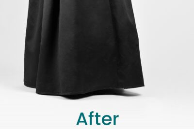 How to Hem a Layered Dress - After