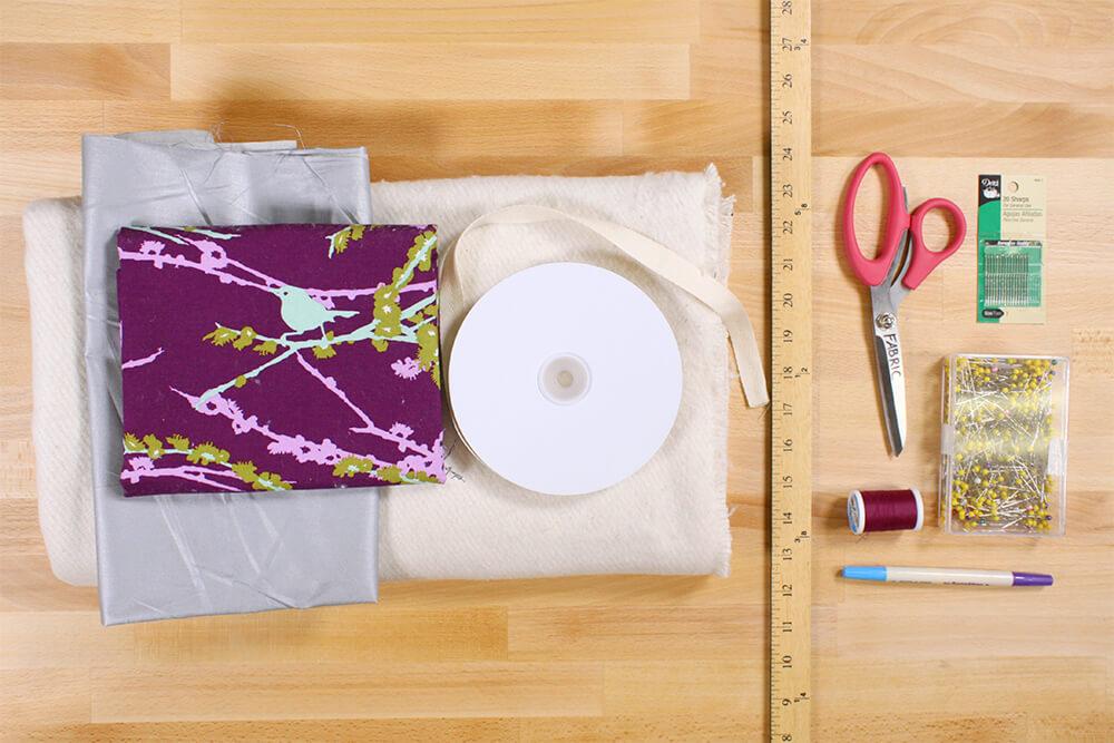 How to Make an Ironing Mat - Materials