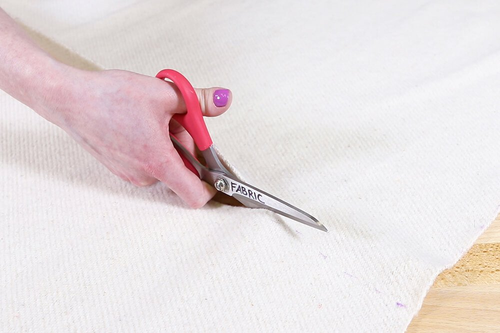 How to Make an Ironing Mat - Measure and cut the fabric