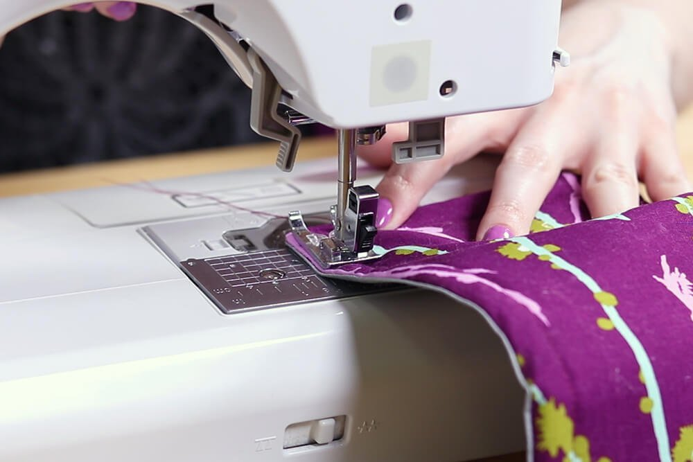 How to Make an Ironing Mat - Sew together