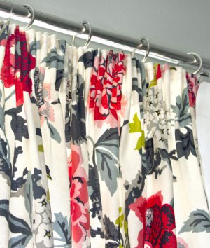 How to Make Pencil Pleat Curtains with Shirring Tape