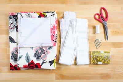 Pencil Pleat Curtains Materials