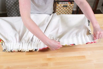 Pencil Pleat Curtains - Gather the pleats