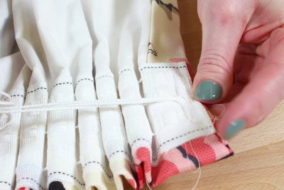 Pencil Pleat Curtains - Knot the strings