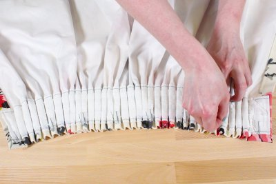Pencil Pleat Curtains - Distribute hooks evenly