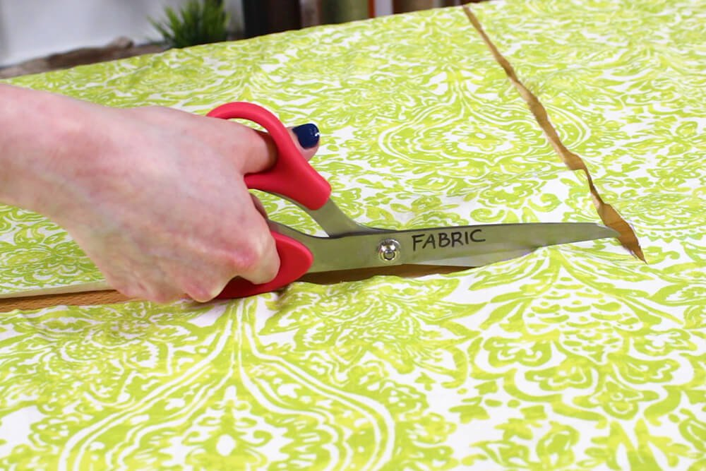 Flanged Pillow Sham - Cut the back piece