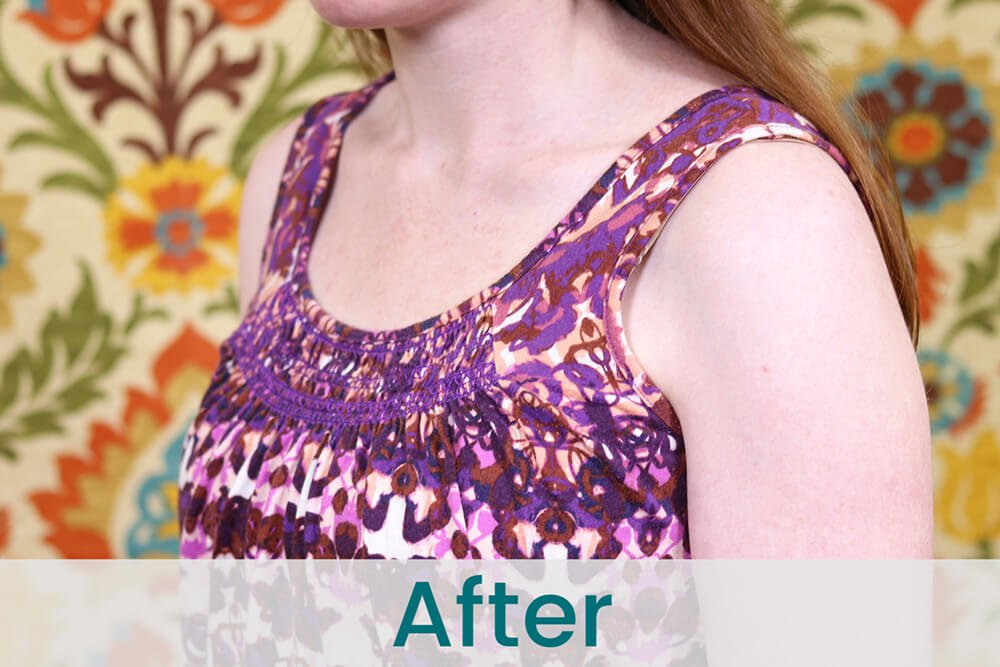 How to Adjust Tank Top Straps - After