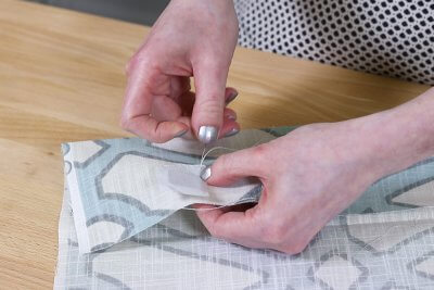 Inverted Box Pleat Curtains - Sew drapery weights