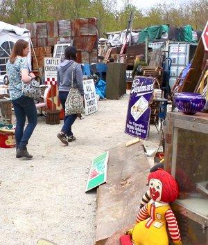 OFS at the Brimfield Flea Market 2017