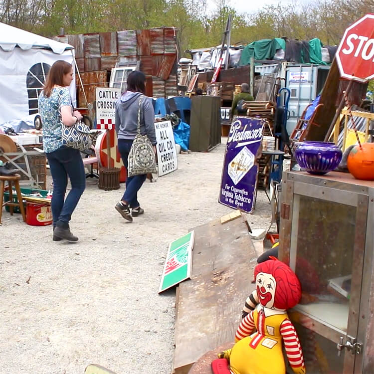 OFS at the Brimfield Flea Market 2017