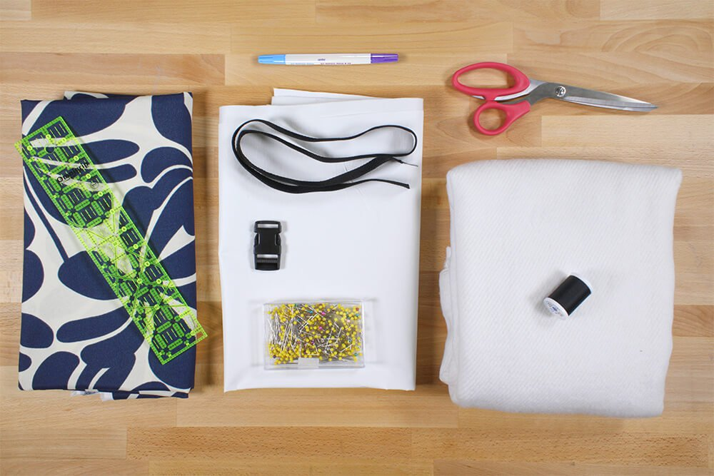 How To Make a Lunch Bag - Materials