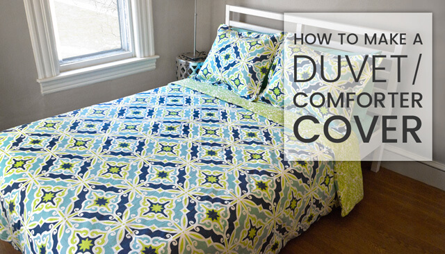 How To Make a Duvet (Comforter) Cover