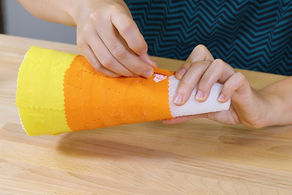 5 Halloween Decor Projects - Candy Corn