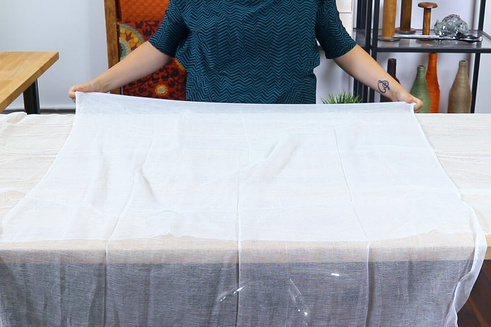 5 Halloween Decor Projects - Cheesecloth Ghost