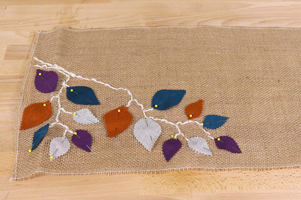 Burlap Table Runner - Continue branch