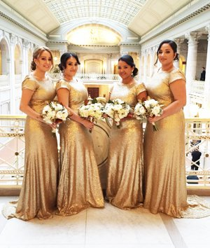Glitz Sequin Bridesmaid Dresses