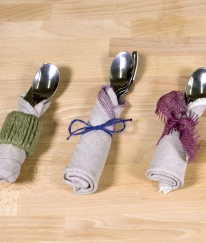 How to Make 5 Simple Silverware Holders