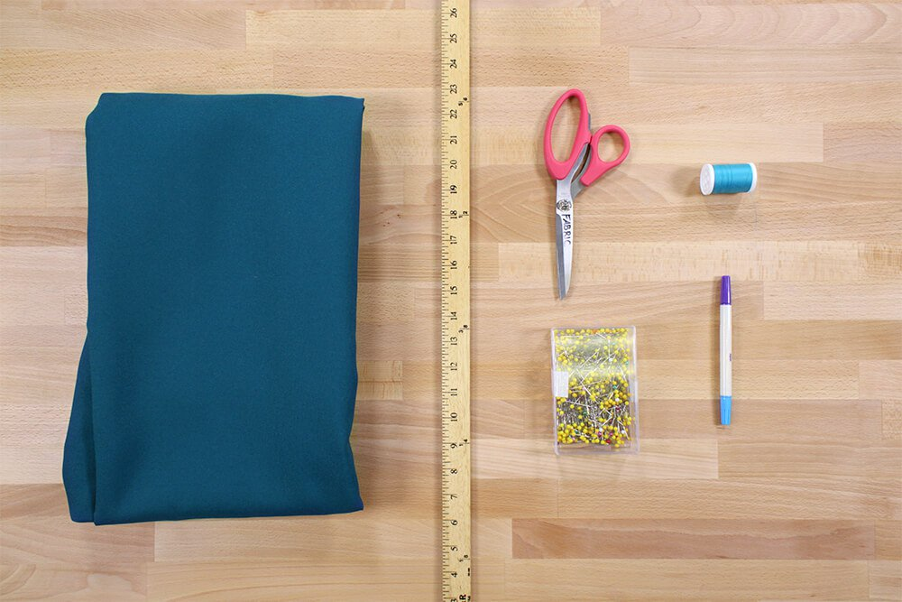 How to Make a Tablecloth - Materials