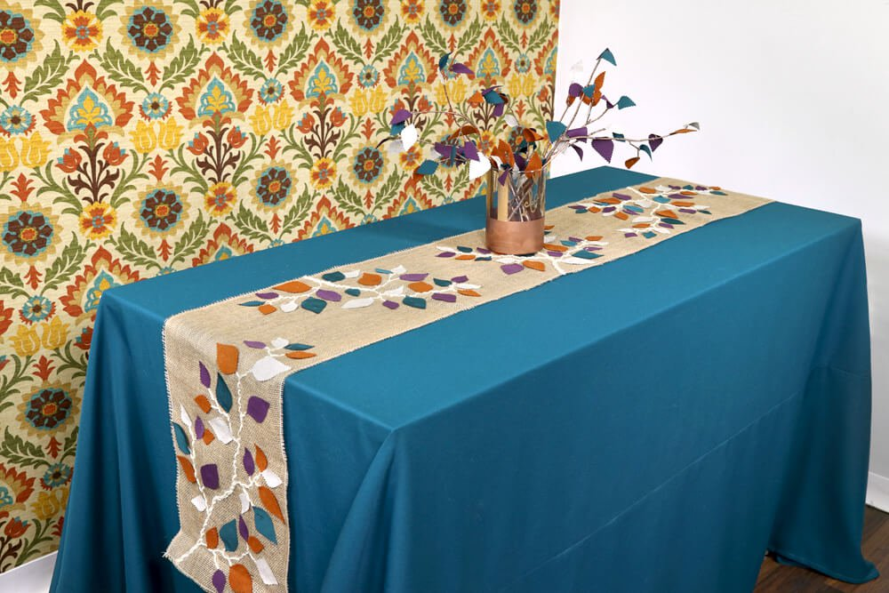 How To Make a Tablecloth - Finished